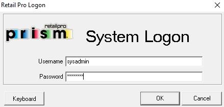 Prism Management login