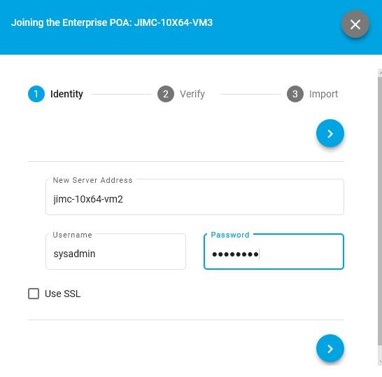 TTK add server process, enter new server details