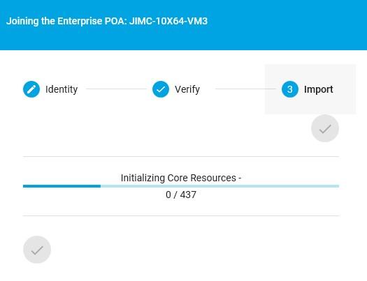 TTK Join the Enterprise process complete