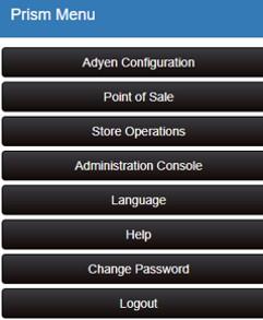 adyen menu button