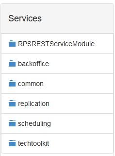 API Services List
