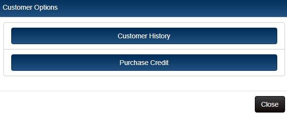 Customer options button