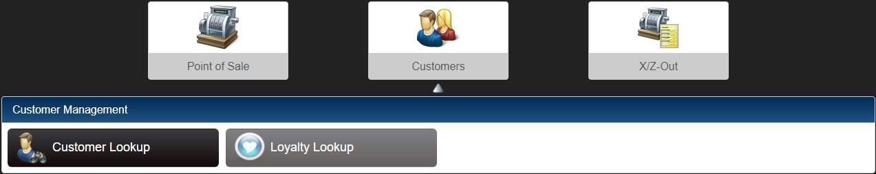 Customers menu
