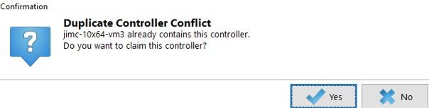 duplicate controller conflict