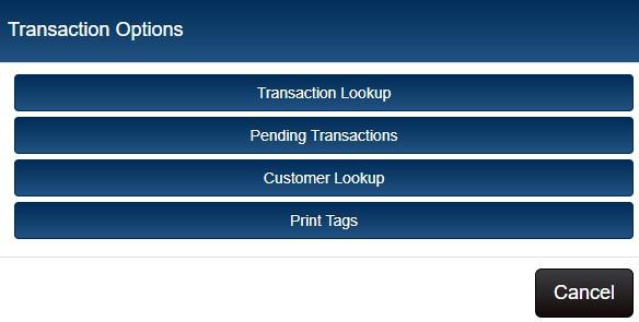 options button menu
