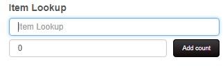 Enter item on PI sheet