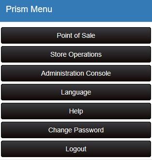 Prism menu