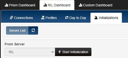 Start initialization