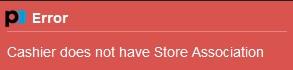 Store assignment error