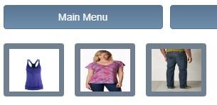 Touch POS menu