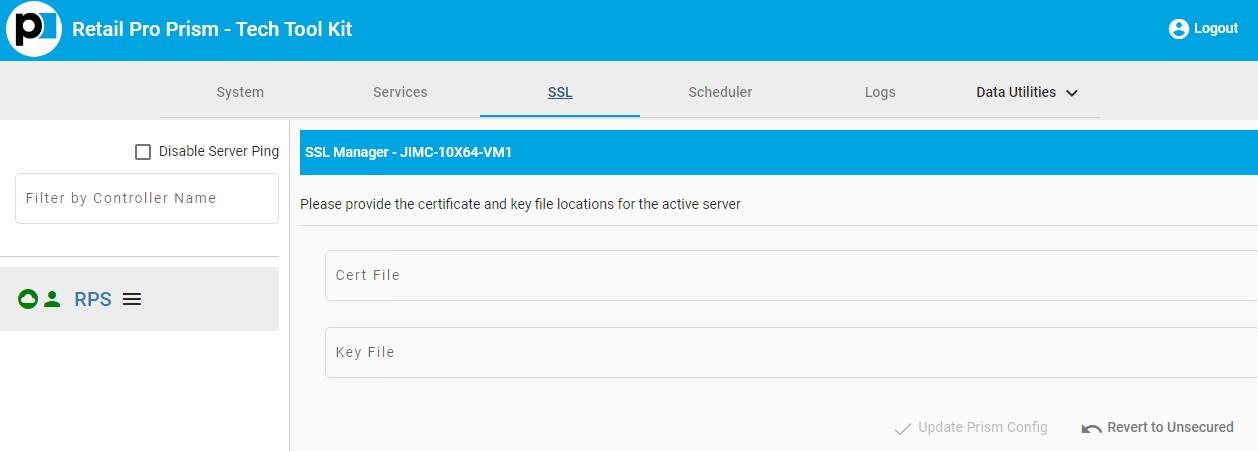 TTK SSL tab