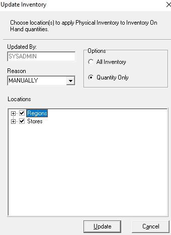 Update PI in V9 dialog