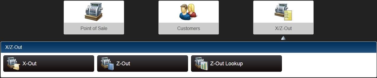 X/Z-Out main menu