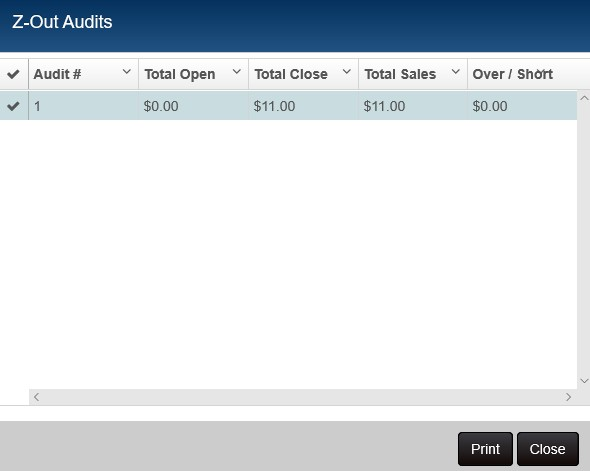 zout lookup audits